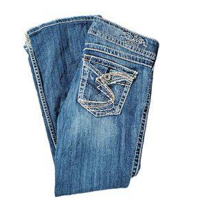 silver jeans womens suki surplus bootcut 28x30